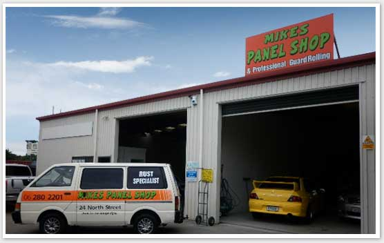 Mikes Panel Shop - Panel Beater Palmerston North